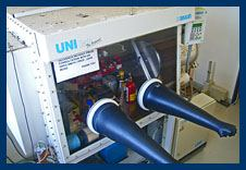 Braun Glovebox for the manipulation of air- and moisture-sensitive transition metal compounds